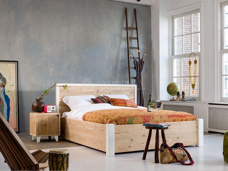 21 beste afbeeldingen over livengo collectie op pinterest bos modellen en houten bedden - Modern bed volwassen ...