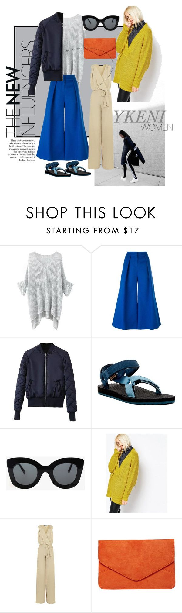"""60secondstyle"" by izrinizelan on Polyvore featuring Roksanda, Teva, CÉLINE, Monki, Maria Grachvogel, Dorothy Perkins, women's clothing, women, female and woman"