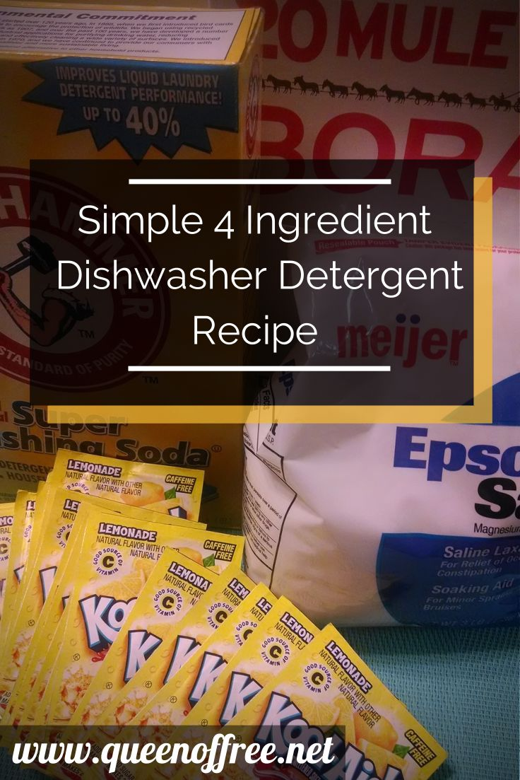 Saving money on dishwasher detergent can be simple and quick! Read this 4 ingredient recipe along with plenty of quick & easy hacks for your…