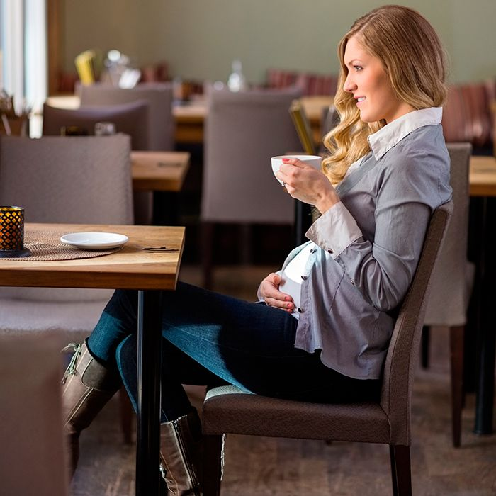 Good news: You don't have to give up your beloved cup of coffee during pregnancy, but you should careful about other sources of caffeine.