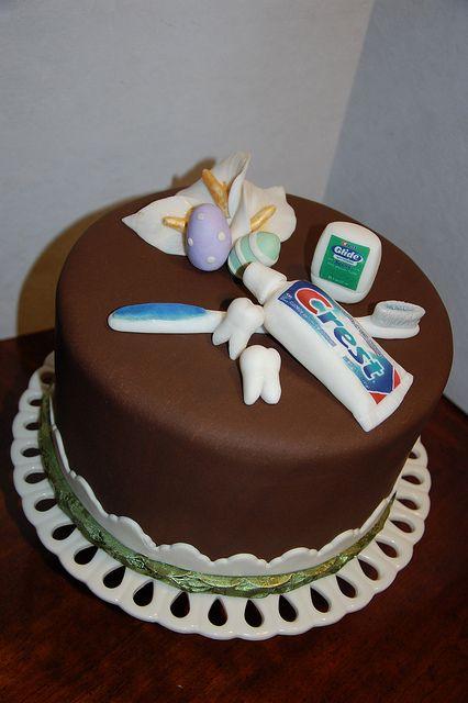 Easter Cake for the Dentist