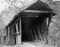 Bunker Hill Covered Bridge dated 1895