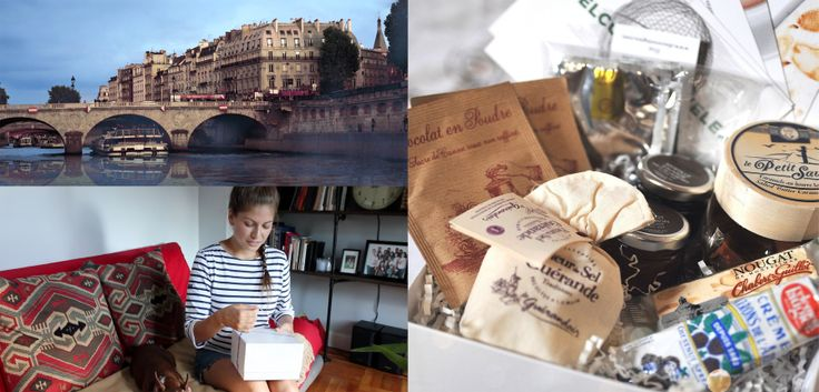 Try The World $45/box, FREE Shipping. Every two months, you get a box packed with gourmet food from a different city, starting with Paris. DAMN I WANT IT!!!!