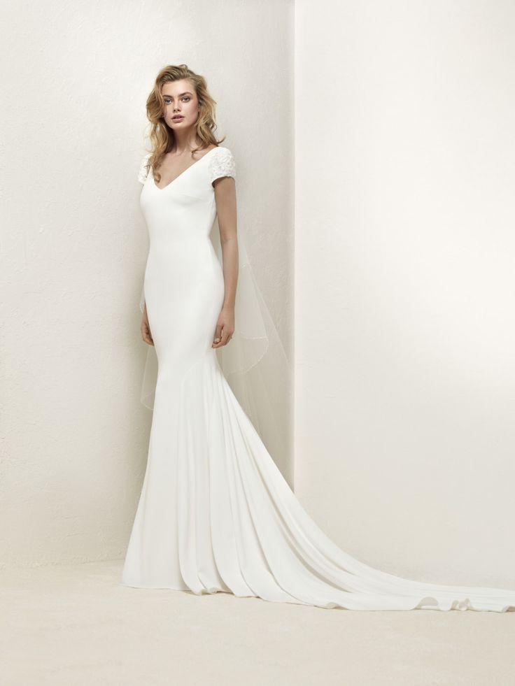 Plain wedding dress - Dralan