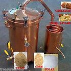 Complt WINE, BRANDY, WHISKEY, SCHNAPS Distiller MOONSHINE KIT mash/ 100's of Gal | Sate Hut