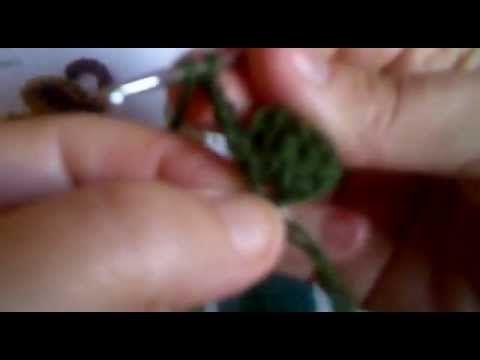 ▶ Trebol de cuatro hojas crochet - YouTube