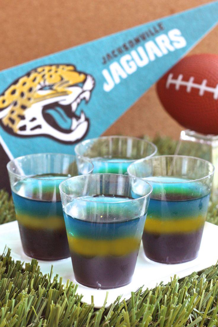Jacksonville Jaguars Jell-O Shots  - Delish.com