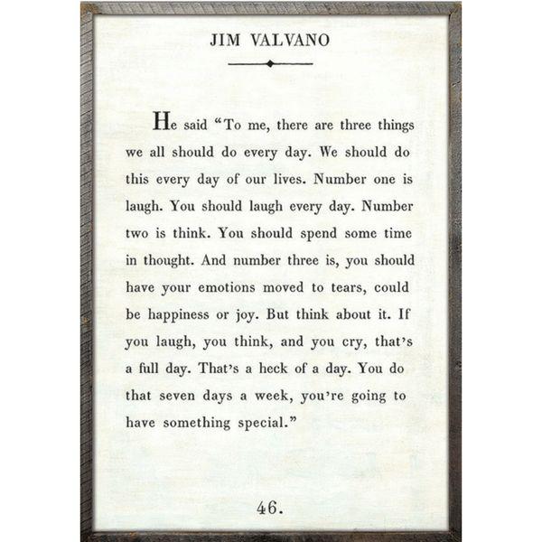 Jim Valvano - Book Collection - Sugarboo and Co - White