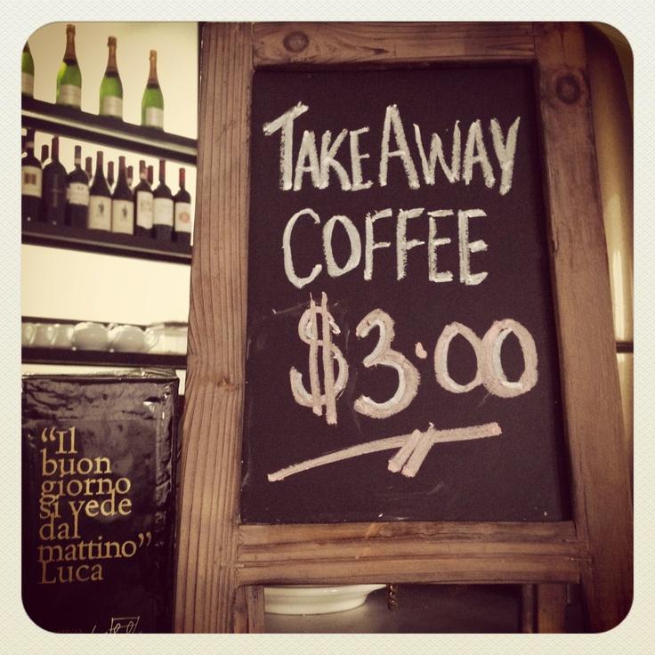 Best take-away coffee