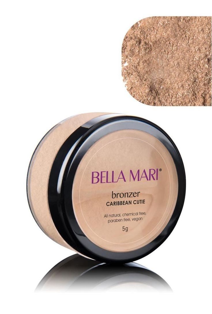 This All Natural Bronzing Powder is Pigmented with Earth Minerals All natural bronzing powder Bismuth oxychloride free and vegetarian face bronzer Cruelty-free,
