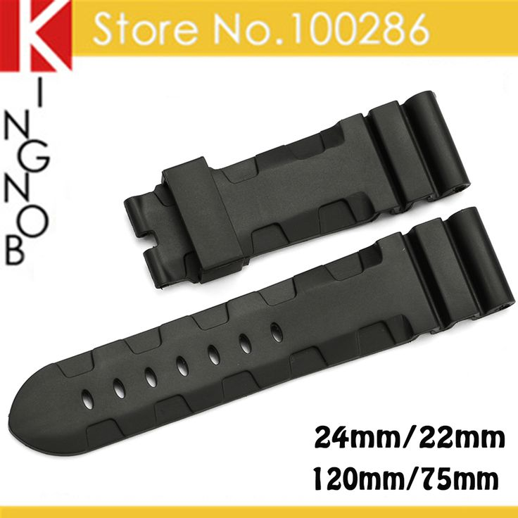 $14.99 (Buy here: https://alitems.com/g/1e8d114494ebda23ff8b16525dc3e8/?i=5&ulp=https%3A%2F%2Fwww.aliexpress.com%2Fitem%2FNew-High-quality-24mm-Black-Rubber-Watch-Strap-Watchband-Rubber-Watch-Band-Strap-Bracelet-Wrist-Watch%2F32332016848.html ) New High quality 24mm Black Rubber Watch Strap Watchband Rubber Watch Band Strap Bracelet Wrist Watch Band For Hours for Panerai for just $14.99
