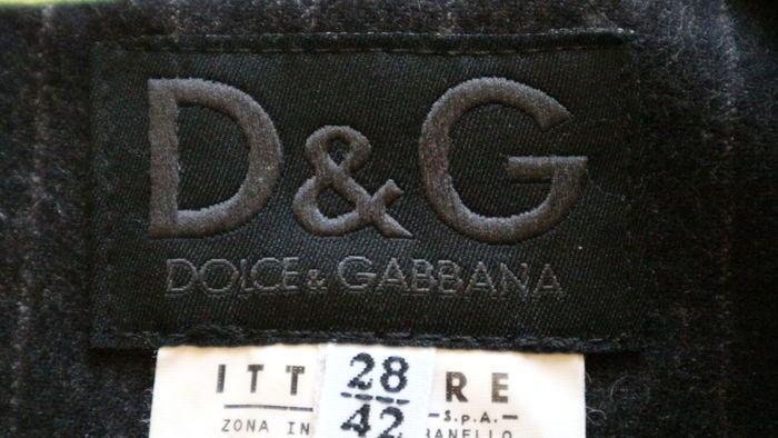 D&G Dolce & Gabbana - Abito tubino smanicato