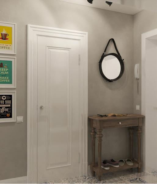 El gris es uno de los colores de moda y en este apartamento vemos lo bonito que puede quedar con algunos toques de color.