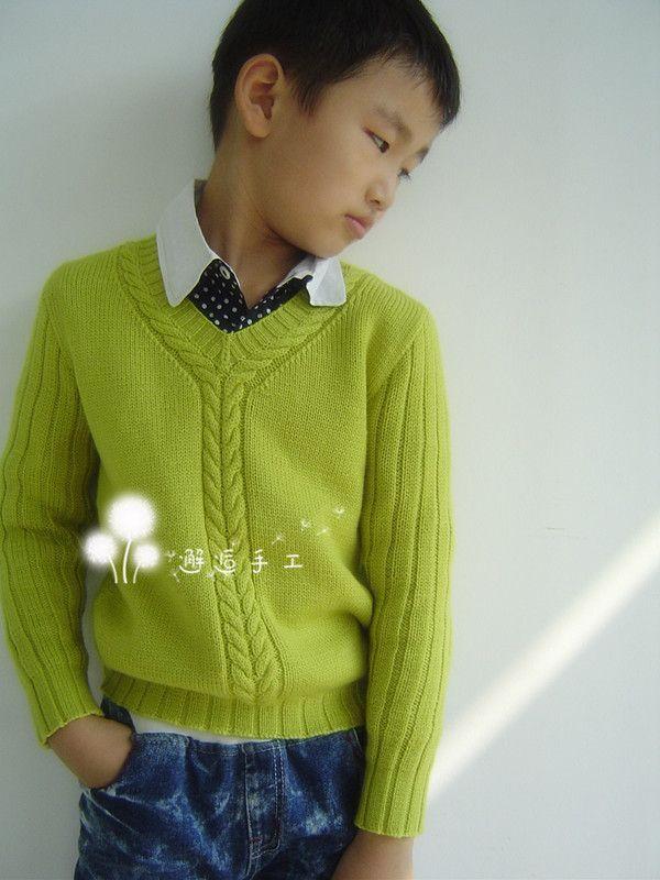 Пуловер с косами для мальчика. Обсуждение на LiveInternet - Российский Сервис Онлайн-Дневников