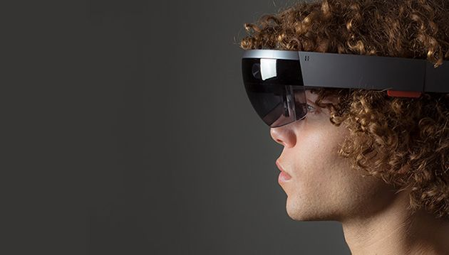 I experienced 'mixed reality' with Microsoft's holographic computer headset, 'HoloLens'