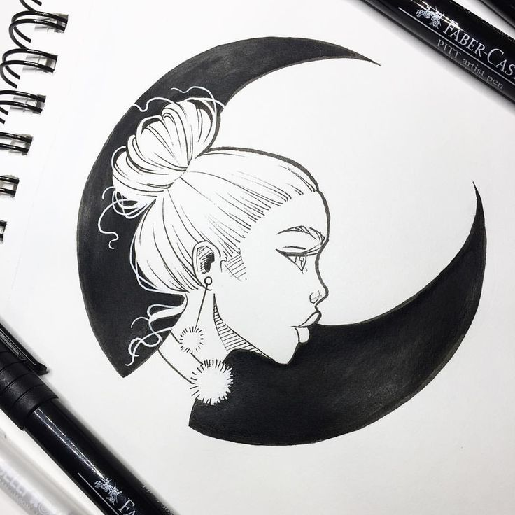 black moon drawing designsdrawing ideasdrawing