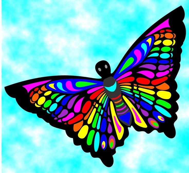 Kite - Butterfly