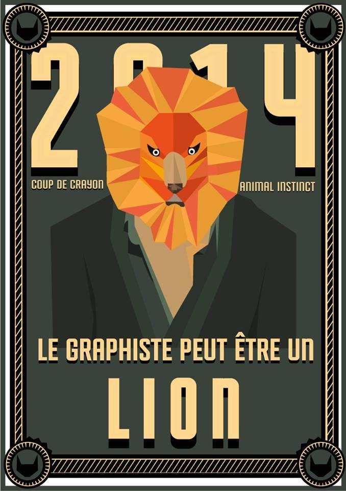 // Le graphiste peut être un lion //  #lion #esprit #animal #espritanimal #animalspirit #spirit #animals #animaux #graphisme #vectoriel