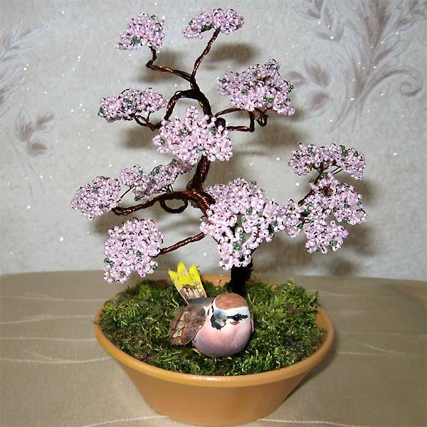 The 50 Best Diy Miniature Fairy Garden Ideas In 2017: 111 Best Images About Bonsai Beaded Trees On Pinterest