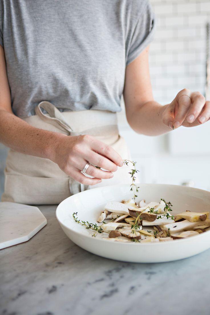 Studio Meal | Trumpet Toast with Dorset Cheese + Thyme   Recipe + Photos | Karen Mordechai