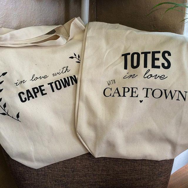 In love! New tote bags just in - R225 in #tidyonlong