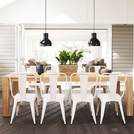 Urban Dining Table 190/250 x 100cm was $1799, NOW $1199 #freedomautumnsale