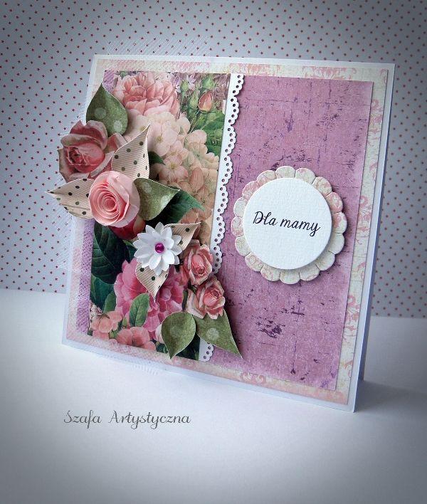 Kartka dla mamy / Card for my mum