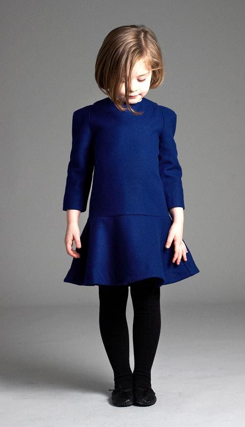 No extraneous details on Liho's Tanja dress, just fabulous shape and color…