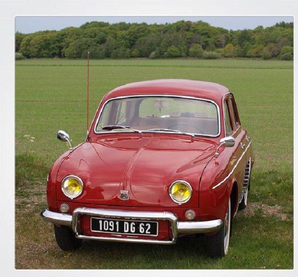1956 Renault Dauphine Oude Auto S Automobiel Auto