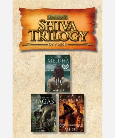 The Shiva Trilogy is the collection the best selling books   The Immortals of Meluha , The Secert of the Nagas and The Oath Of  the Vayuputras written by Amish. The Immortals of Meluha -1900 BC. In what modern Indians mistakenly call the Indus Valley Civilisation. The inhabitants of that period called it the land of Meluha – a near perfect empire created many centuries earlier by Lord Ram, one of the greatest monarchs that ever lived. This once proud empire and its Suryavanshi rulers face…