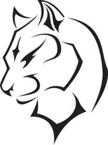 Puma outline.