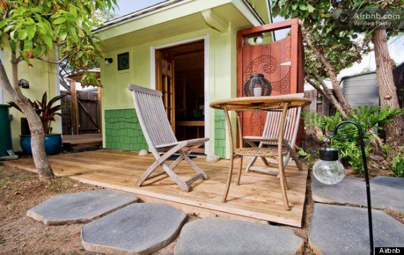 8 airbnb rentals in Hawaii. Look up airbnb, couchsurfer, vayable and canaryhop (guided tours) too