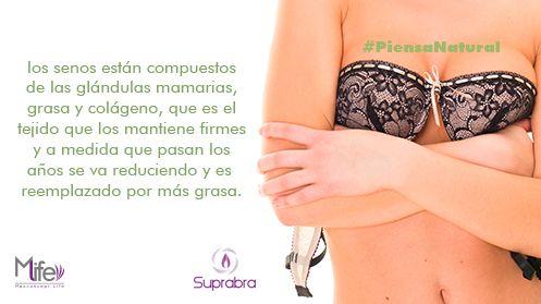 Sabías que los #pechos siempre van a estar creciendo. #Senos #Bubis #PiensaNatural #tip www.suprabra.com