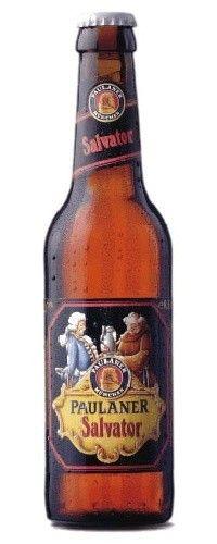 Cerveja Paulaner Salvator, estilo Doppelbock, produzida por Paulaner Brauerei München, Alemanha. 7.9% ABV de álcool.