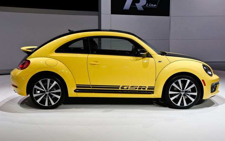 Limited to 3,500 units (just like the old model), The 2014 Volkswagen Beetle GSR…