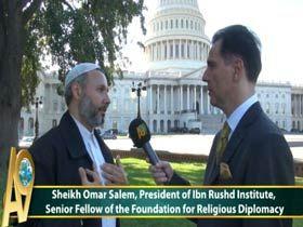 Şeyh Ömer Selim, İbni Rüşd Enst. Kurucusu, Dini Diplomasi Vakfı'nda Kıdemli Akademisyen, ABD Video
