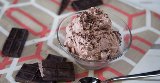 This ice cream tastes like a Wendy's frosty - seriously!  #blenderrecipes