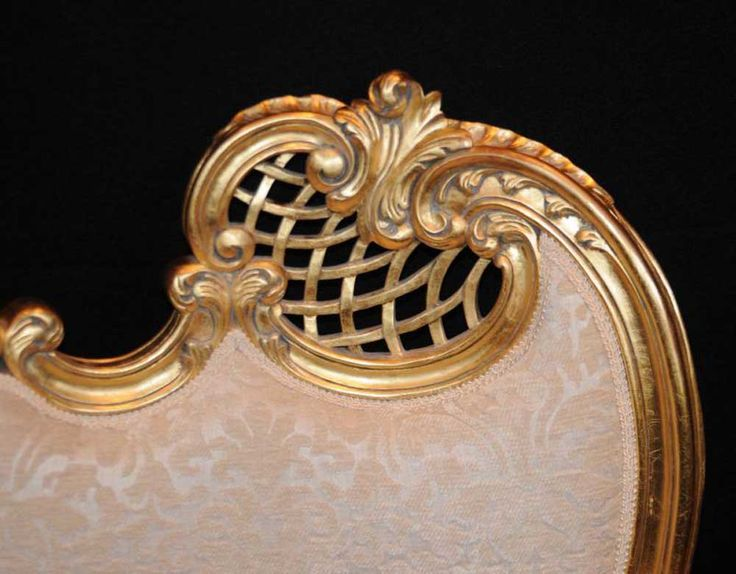 Canonbury - Pair French Rococo Louis XV Arm Chairs Armchair Fauteil Gilt