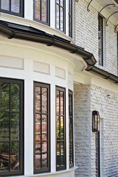 Weeping Mortar On Bricks Windows Shell White Duron