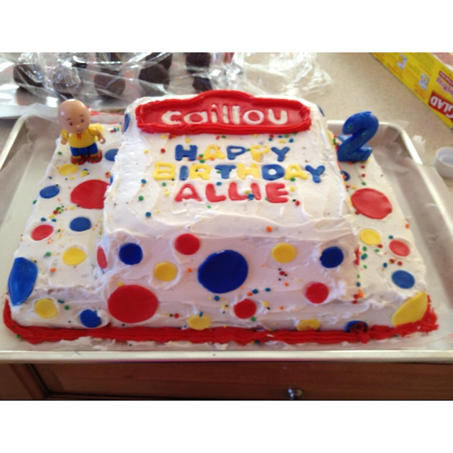 18 best Caillou images on Pinterest Birthday party ideas