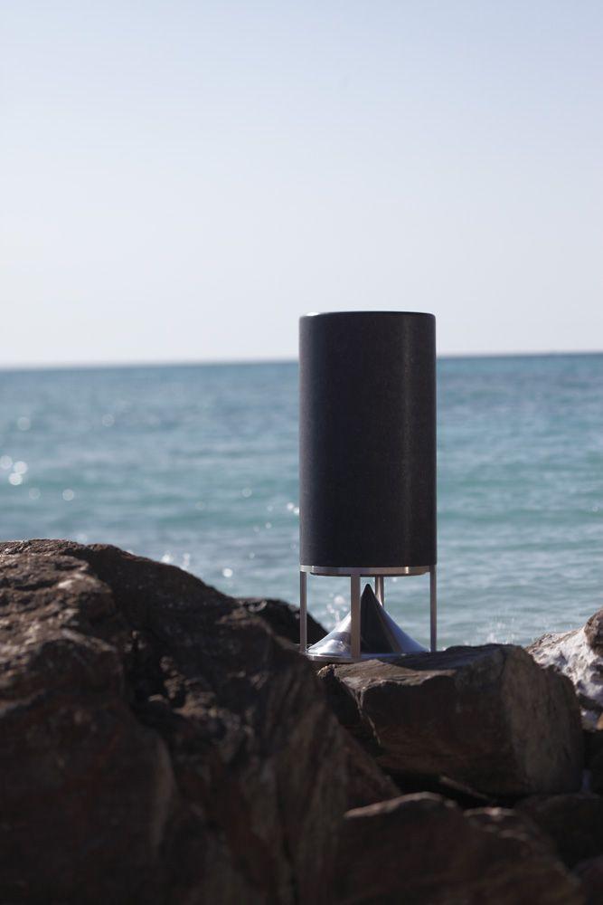 Cylinder, speaker designed by Vladimir Djurovic for Architettura Sonora