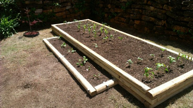 24 Plain Raised Garden Beds With Landscape Timbers U2013 Izvipi.com