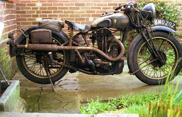 1934 BSA R34-5 Blue Star Classic Motorcycle Pictures