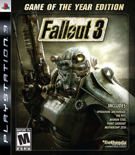 Fallout 3: Game of the Year Edition - PlayStation 3, Multi