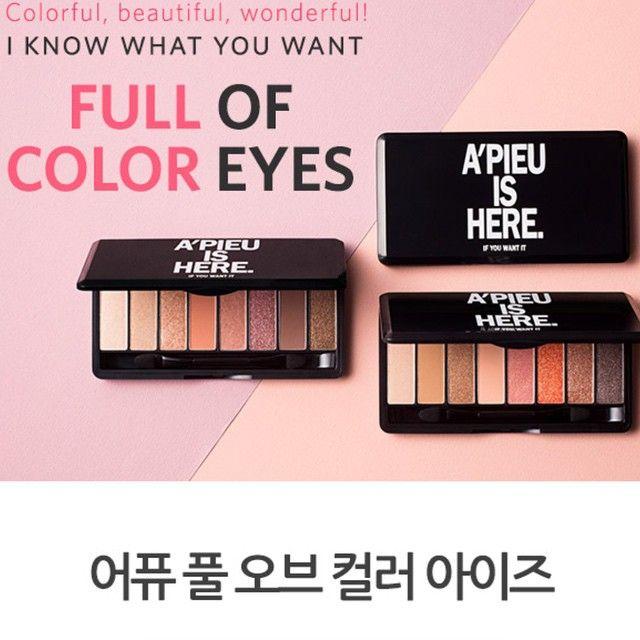 [A'pieu] Phấn mắt Eyeshadow Palette A'pieu Is Here