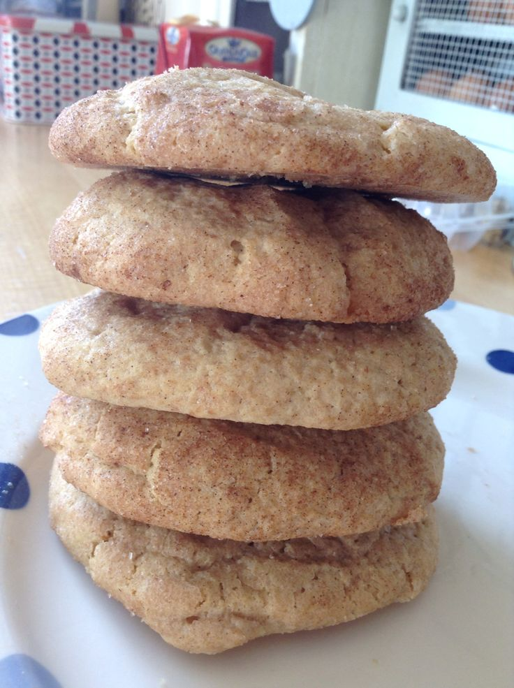 My first attempt at Snickerdoodle cookies!