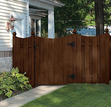 Cabot Semi-Solid Cordovan Brown for fence