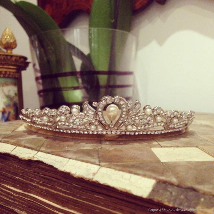 Andrew Príncipe tiara do casamento de Cristal