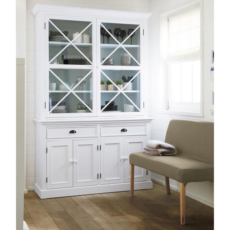 Les 25 meilleures id es concernant vaisselier blanc sur for Maison de famille meubles