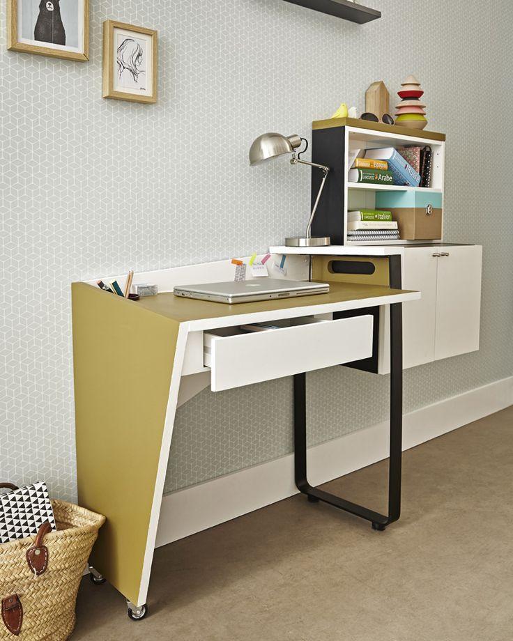 58 best Bureau images on Pinterest Bedroom office, Bureaus and - maison en 3d gratuit